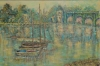 untitled-boats-on-the-water-oil-on-canvas-Collection of Judy and Martin Tobey-jpg