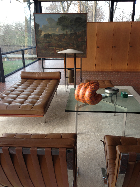 glass-house-interior-with-poussin-mies-furniture