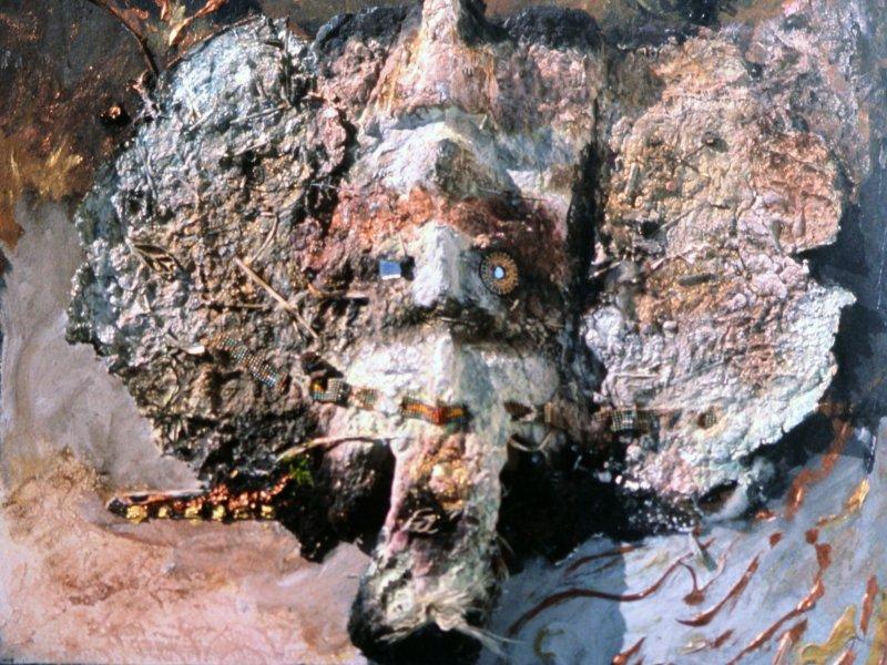 clan-of-the-hunting-bird-alt-is-it-an-elephant-1993-4-handmade-paper-construction-22x28x4-jpg