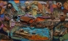 parts-and-pieces-on-the-pond-mixed-media-Collection of Judy and Martin Tobey-jpg