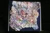 Midnight Magic in Mexico-handmade-paper-mixed-media, 30x30-jpg