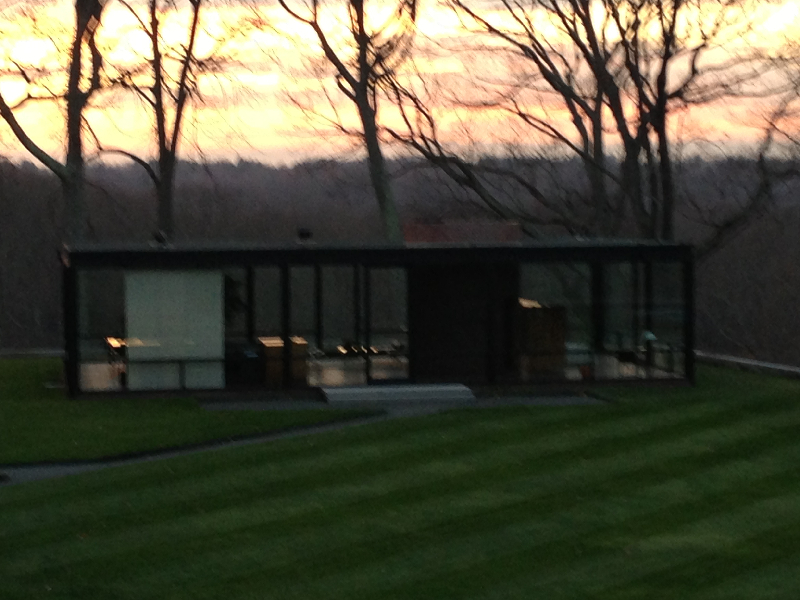 glass-house-at-sunset